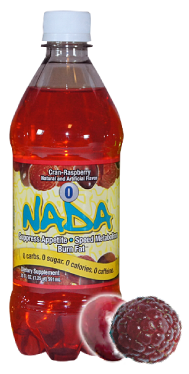 NADA Bottle Cran-Rasberry Large