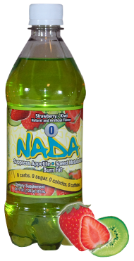 NADA Bottle Strawberry-Kiwi Large
